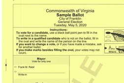 Sample Ballot, District 2
