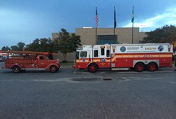 Old and New firetrucks